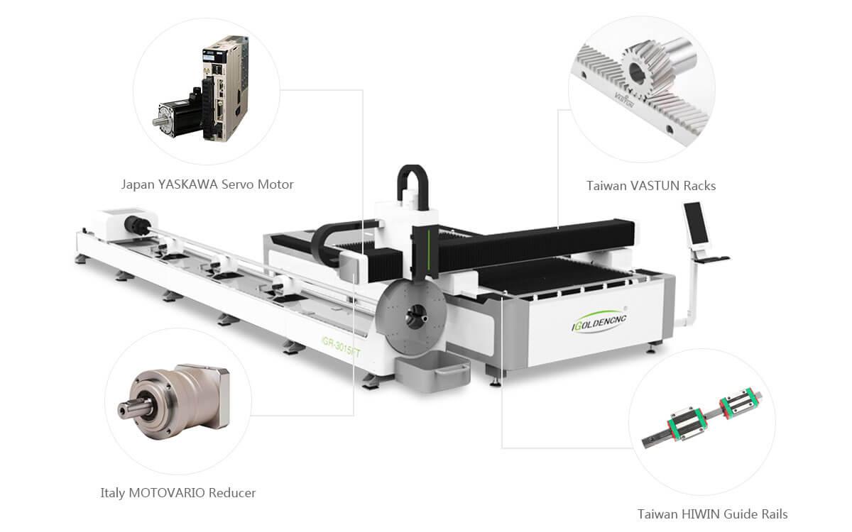 Système de transmission de haute précision pour machine de découpe au laser métallique