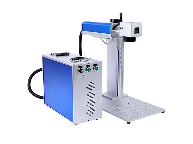 Tragbare Lasermarkierungsmaschine aufgeteilt