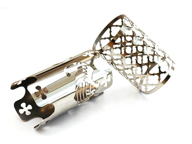 Tube métallique coupe laser