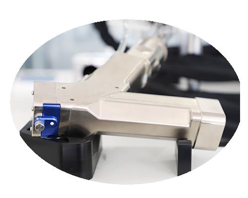 Tête de nettoyage au laser pour machine de nettoyage au laser
