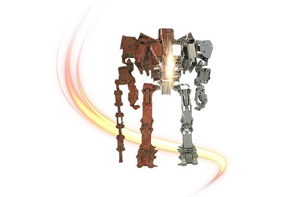 Rustentferner für Roboter
