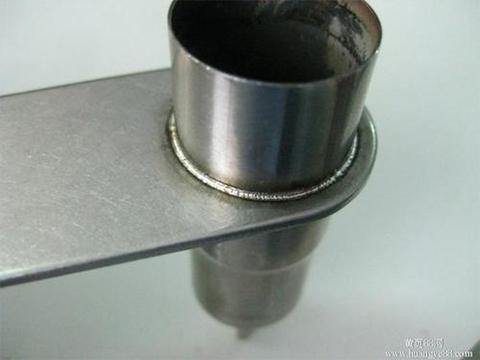 Aluminium-Laserschweißen.