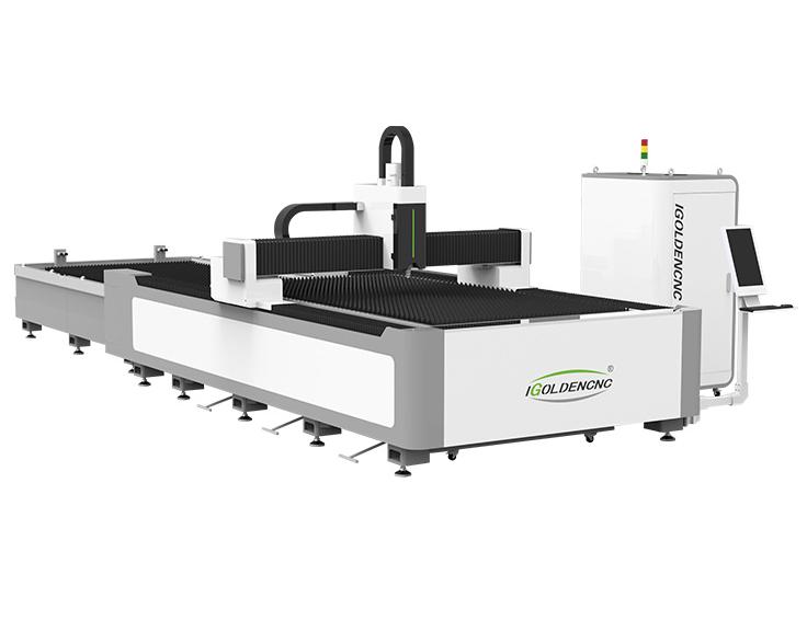 Faser-Laser-Schneidemaschine mit Exchange-Plattform IGR-E